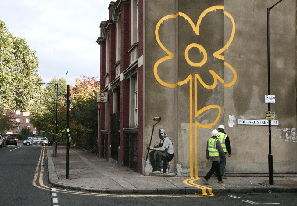 Flower Bansky
