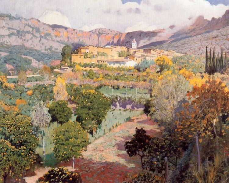 Valle de los Naranjos, Santiago Rusiñol