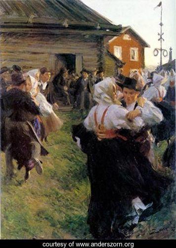 Anders Zorn, Solsticio de Verano