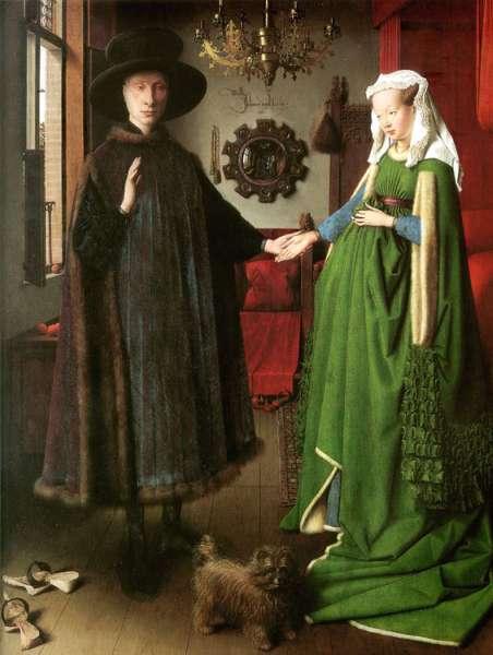Matrimonio Arnolfini, Jan van Eyck