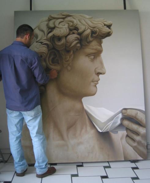 Pintando Mi David