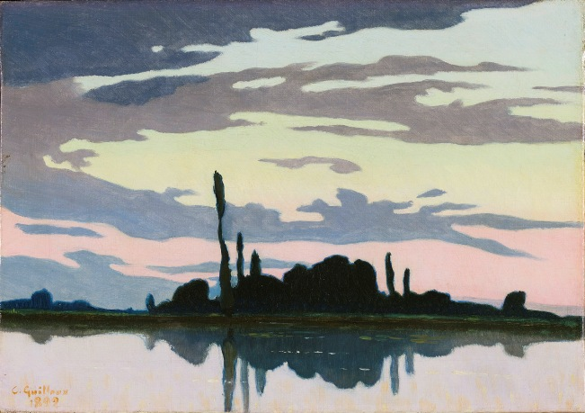 Charles Guilloux, Crepúsculo, 1892