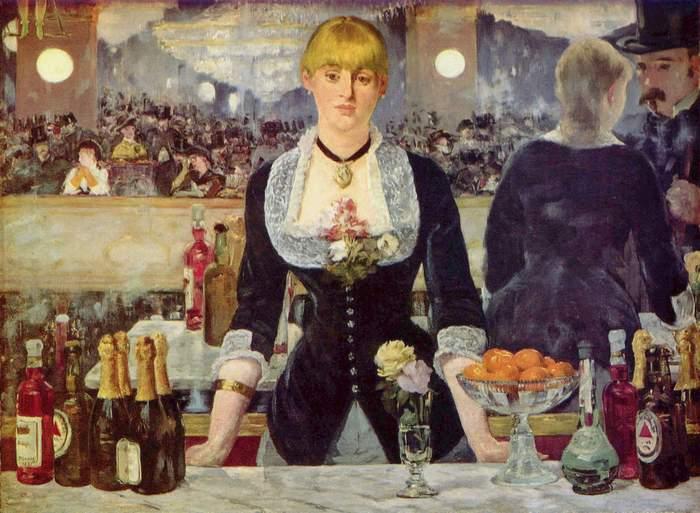Edouard Manet, El bar del Folies Bèrgere