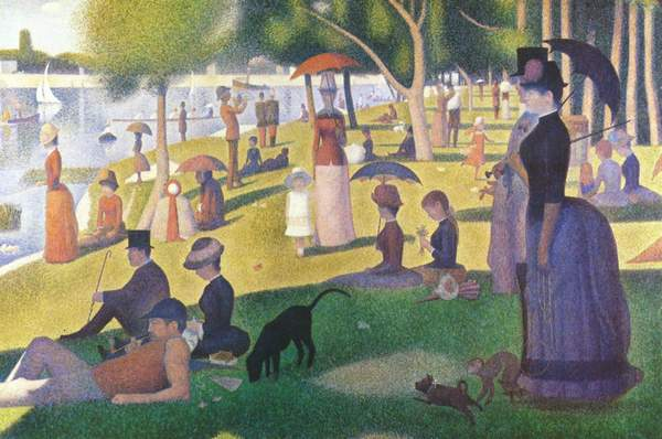 Georges Seurat, Tarde de domingo en la Grande Jatte