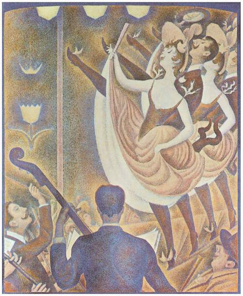 Georges Seurat, Bailarines de Can Can