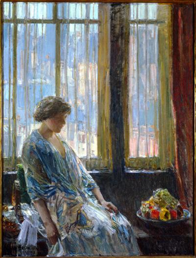 La ventana de Nueva York, Childe Hassam, 1912