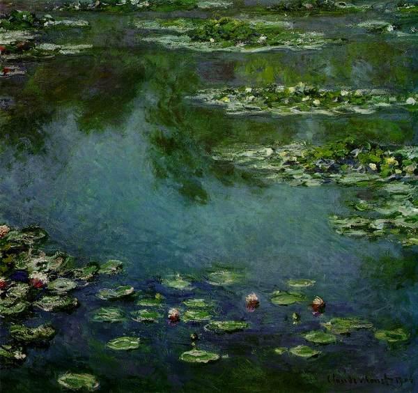 Monet, Nenúfares, 1920-26