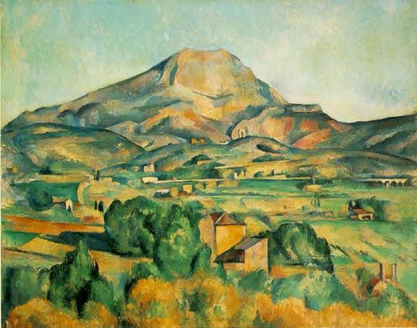 Paul Cézanne, La montaña Santa Victoria desde Bellevue