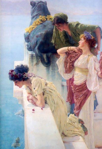Un lugar de privilegio, Alma Tadema
