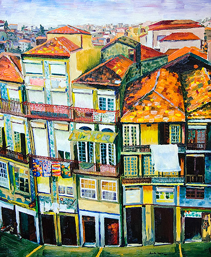 Fachadas de Oporto