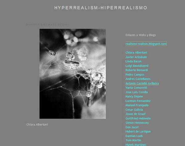 Blog Hiperrealismo